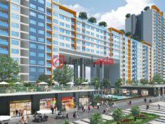 居外网在售越南2卧2卫的新建房产总占地60平方米