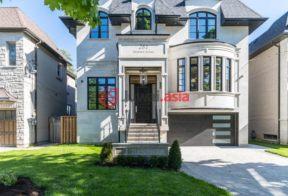 居外网在售加拿大多伦多4卧7卫的房产总占地567平方米CAD 3,928,000