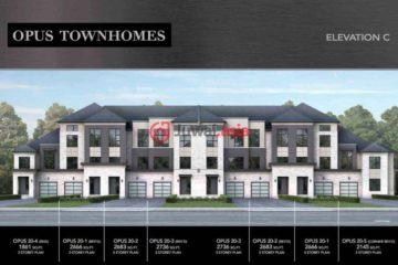 加拿大Richmond Hill3卧4卫新开发的房产