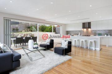 居外网在售澳大利亚5卧5卫特别设计建筑的房产总占地521平方米