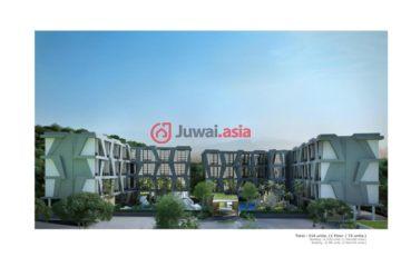居外网在售泰国1卧1卫的房产总占地222平方米THB 4,100,000