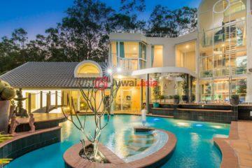 澳洲房产房价_昆士兰房产房价_居外网在售澳洲5卧5卫特别设计建筑的房产总占地2039平方米