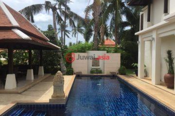 居外网在售泰国苏梅岛4卧2卫的房产总占地750平方米THB 12,000,000