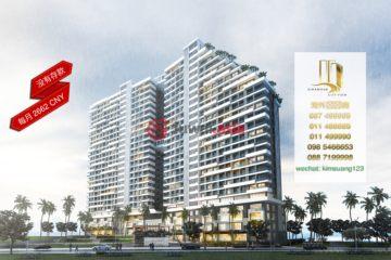 居外网在售柬埔寨Sihanouk Ville2卧1卫的房产总占地83平方米USD 73,750