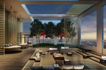 居外网在售泰国1卧1卫新房的房产总占地1平方米THB 5,243,000