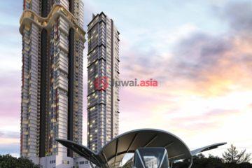 居外网在售马来西亚2卧2卫新开发的房产总占地8311平方米MYR 1,172,000
