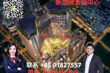 居外网在售新加坡3卧3卫新开发的房产总占地143平方米SGD 3,577,710