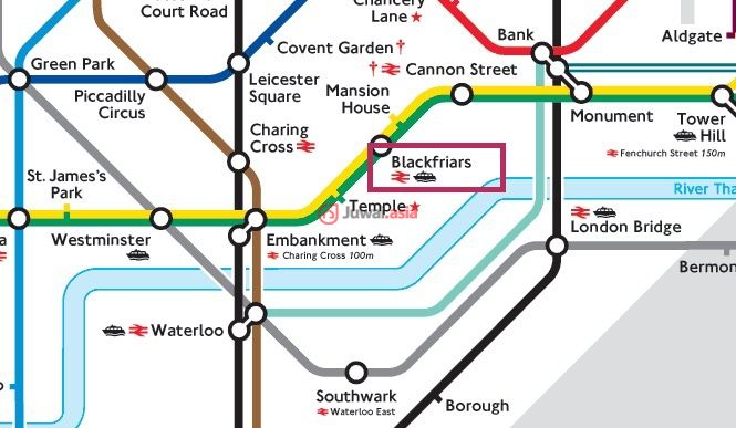 英国英格兰伦敦的房产,布莱克法尔一号,1-16 Blackfriars Road, London,编号33478201