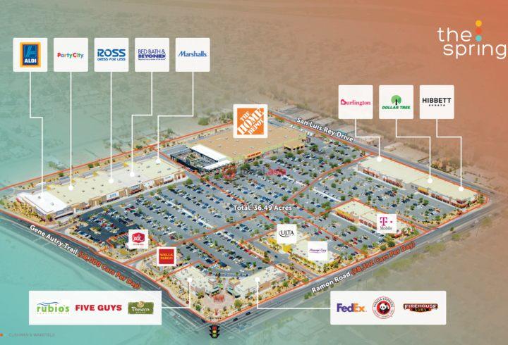 美国加州棕榈泉的商业地产,5200 E. Ramon Road,编号37784431