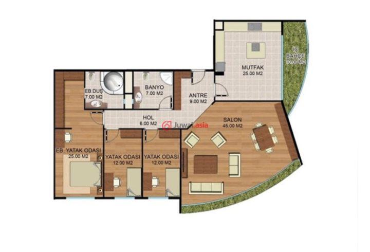 125個平方房子設計圖
