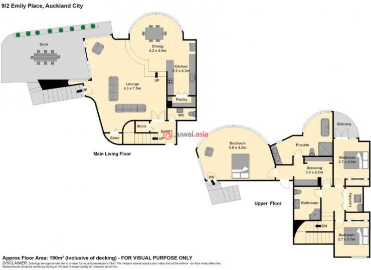 新西兰奥克兰的房产,9/2 Emily Place,编号34818549