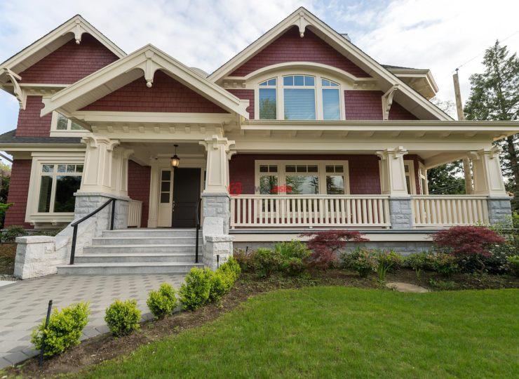 加拿大不列颠哥伦比亚省温哥华4卧7卫的米面房产宽别墅7小图片