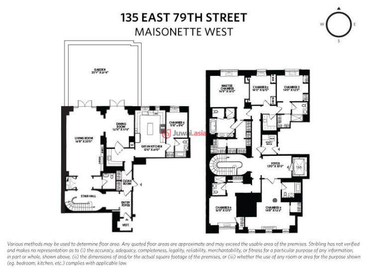美国纽约州纽约的新建房产,135 East 79th Street,编号34509394
